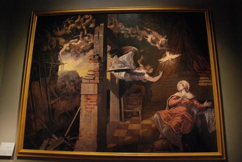 マリアと天使の絵 題名不明